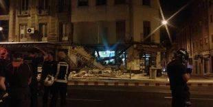 Desalojadas 43 personas por el desplome parcial de un edificio en Tetuán