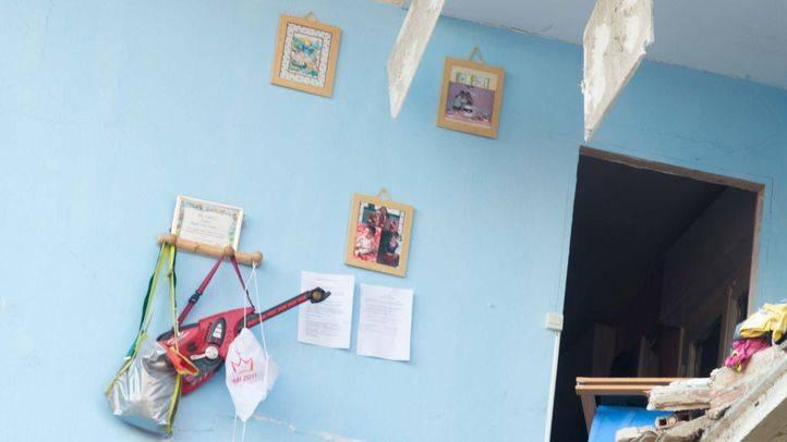 Vecinos de Tetuán se ofrecen a dar ropa y enseres a las familias afectadas por el derrumbe del edificio