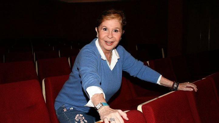 Lina Morgan en el teatro de La Latina.
