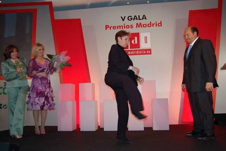 Lina Morgan recibe el Premio