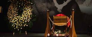 Despedida multitudinaria a Lina Morgan en el Teatro de la Latina