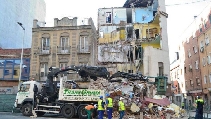 El Ayuntamiento dará a conocer este viernes el informe con las causas del derrumbe del edificio de Tetuán