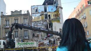 El derrumbe del edificio de Tetuán se produjo a causa de la fatiga de materiales