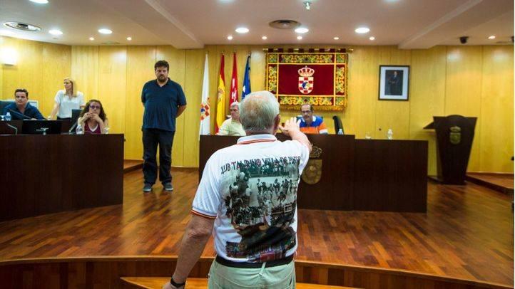 Desalojado el Pleno de Pinto por incidentes con taurinos