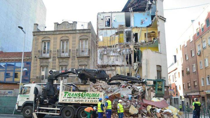 La propietaria del edificio derrumbado en Tetuán se reunirá con los inquilinos este sábado