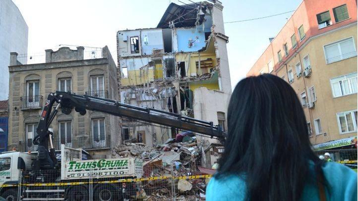 Vecinos del edificio derrumbado en Tetuán consideran