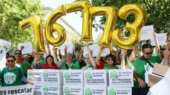 Más de 76.000 firmas avalan la creación de una ley urgente del derecho a la vivienda social