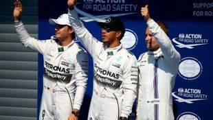 """Hamilton vuela sobre el trazado de Spa y logra su décima """"pole"""""""