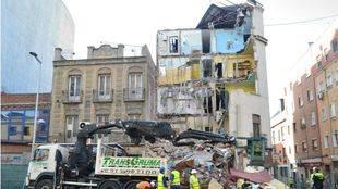 Los servicios sociales de Tetuán atenderán desde este lunes a los vecinos afectados por el derrumbe