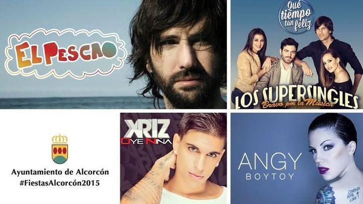 Cartel de las fiestas de Alcorcón 2015