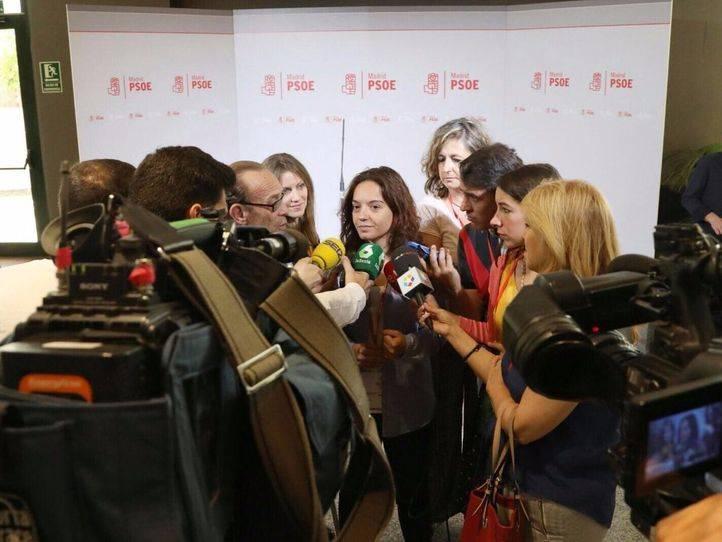El PSOE M se da la tarde para negociar un acuerdo sobre la lista del Congreso Federal