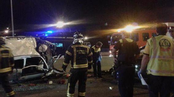 Un muerto y tres heridos al chocar su coche con un turismo que circulaba en dirección contraria en la M-500