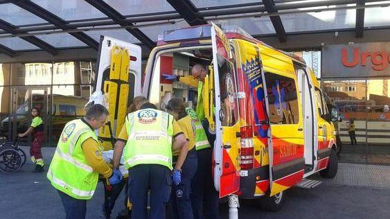 Fallece un motorista de 35 años tras una colisión con un turismo en el Paseo de Extremadura