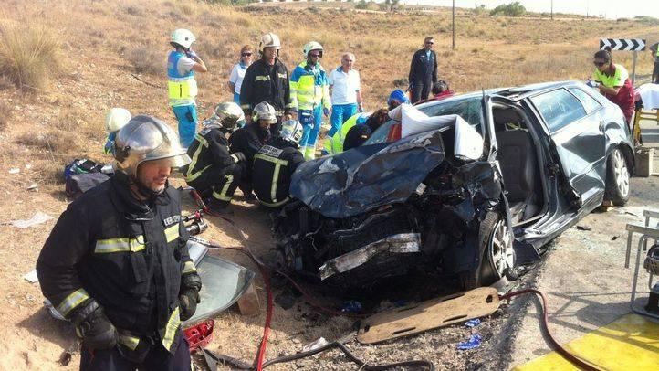 Muere una mujer y otra resulta grave en un accidente de tráfico en Morata de Tajuña