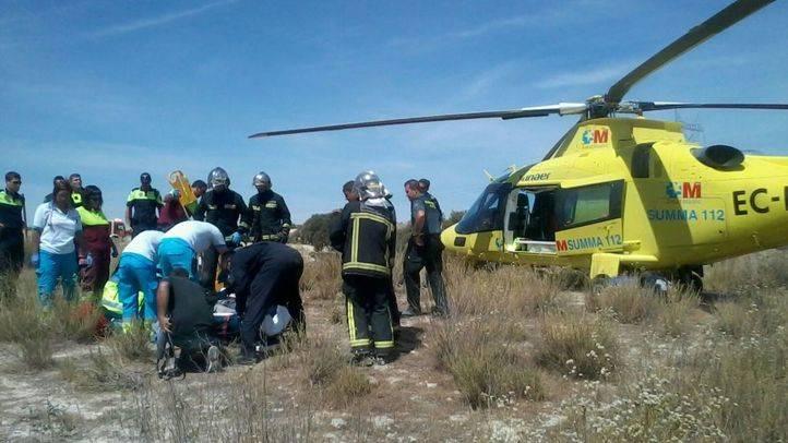 Accidente laboral en Villarejo de Salvanés