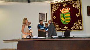 Parla felicita a tres agentes de la Policía Local por su servicio a la ciudad
