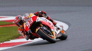 GP de Gran Bretaña: Márquez continua su remontada con una nueva pole