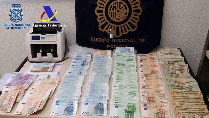 En una operación de la Policía Nacional y de la Agencia Tributaria desarrollada en Madrid, Barcelona y Córdoba
