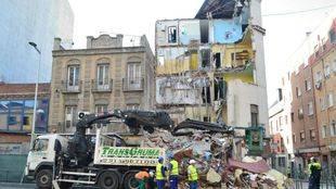 Higueras afirma que ningún afectado por el derrumbe del edificio de Tetúan