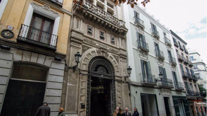 Edificio de la calle del Padro, 21 del Ateneo de Madrid