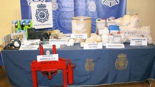 Detenido un grupo de narcotraficantes de heroína y cocaína