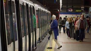 Tren de Metro de Madrid.  (Archivo)