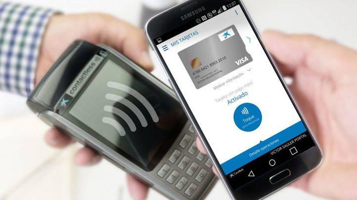 CaixaBank lanza un servicio de pago por móvil