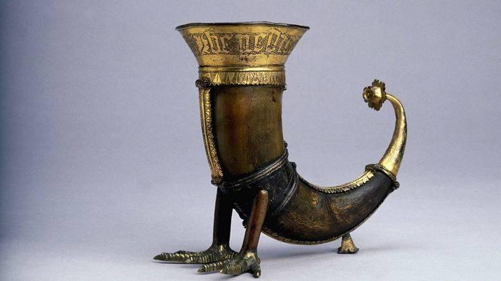 Cuerno para beber del British Museum