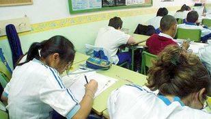 Niños de primaria en un colegio público