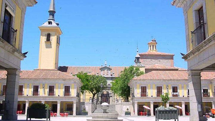 Plaza Mayor de Brunete