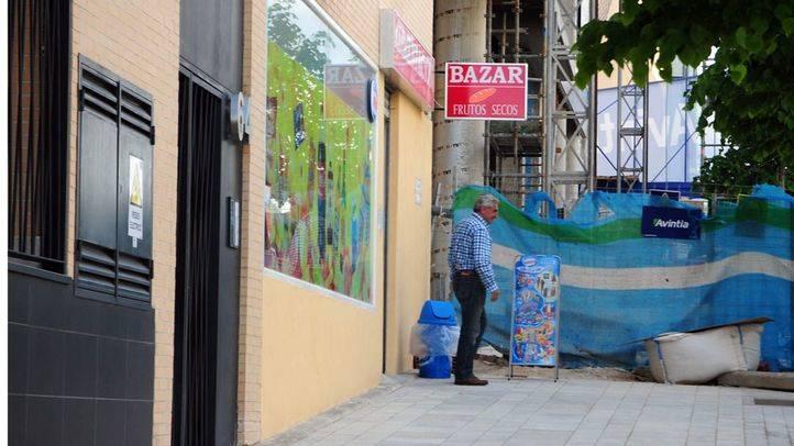 Un bazar chino en Valdebebas