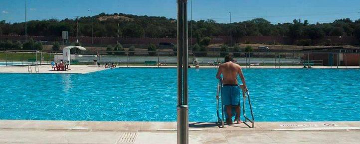 El último baño en Madrid