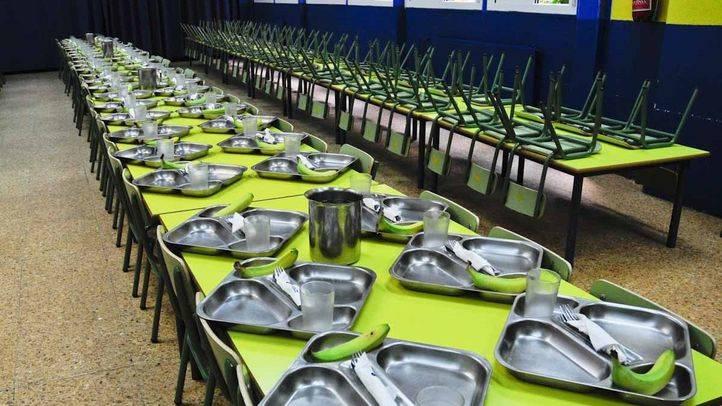 El menú escolar en los colegios públicos se rebaja en 5 céntimos al día