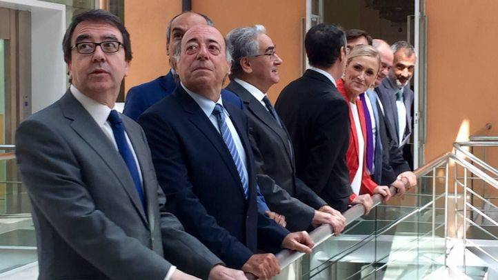 Cifuentes y los rectores de las universidades madrile�as