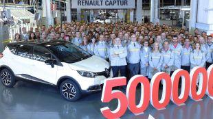 500.000 Renault CAPTUR fabricados en Valladolid