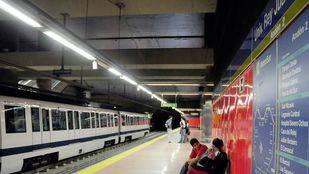 El tramo de MetroSur entre las estaciones de Universidad Rey Juan Carlos y Loranca reabre este domingo