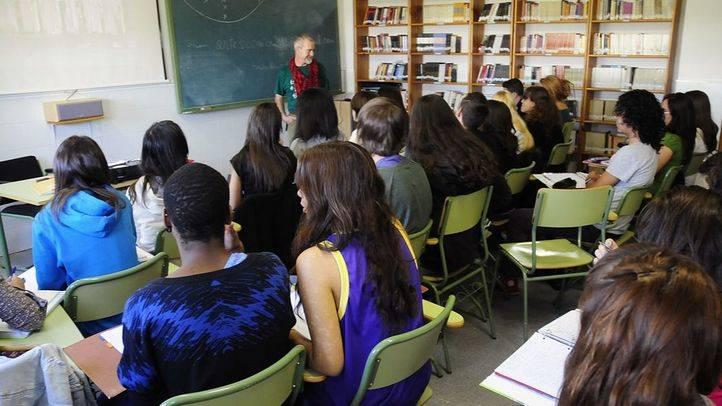 Clase de Artes Escénicas en un instituto de la Comunidad de Madrid