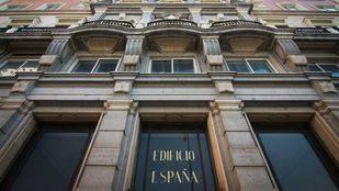 El Grupo Wanda plantea demoler la fachada del Edificio España y hacer una copia exacta