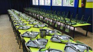 Los comedores escolares en verano han atendido a unos 500 niños de los 5.500 que se esperaban