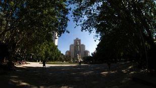 El mantenimiento de la fachada del Edificio España es
