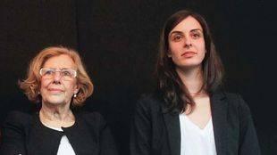Manuela Carmena y Rita Maestre