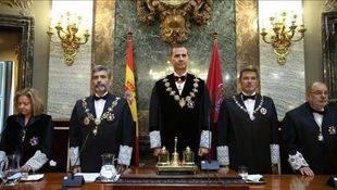 El Rey Felipe VI preside la ceremonia de apertura del Año Judicial
