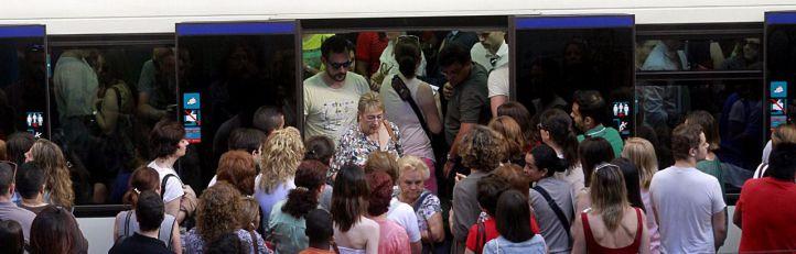 Huelga de Metro en pleno Orgullo Gay