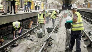 La línea 6 de Metro reanuda el servicio entre Puerta de Ángel y Oporto