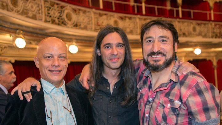 Yayo Cáceres, Álvaro Tato y Carmelo Gómez en La Comedia