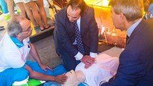 Sanidad prorroga los cursos de primeros auxilios del SUMMA