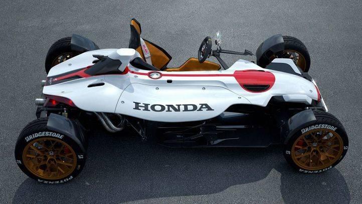 Honda Project 2&4, mitad moto, mitad coche