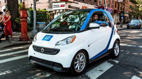 La empresa Car2Go quiere poner en marcha un sistema de carsharing con 500 vehículos eléctricos