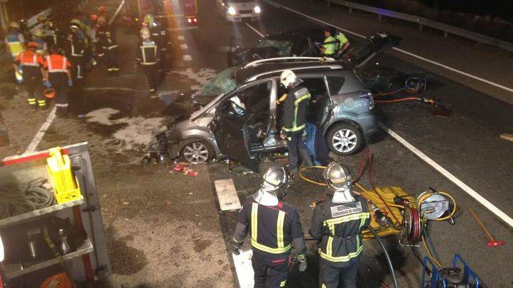 Accidente mortal en Colmenar Viejo