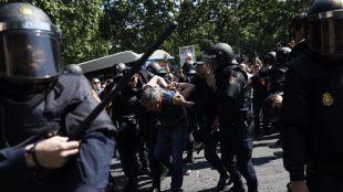 En libertad los taxistas detenidos en los actos de protesta
